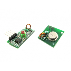 Wholesale 433Mhz RF Transmitter and Receiver Kit
