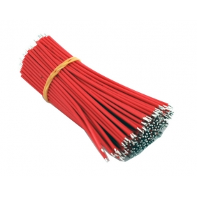 Wholesale Two-headed Tin plated Electronic Wire AWG22 150mm 500pcs/lot
