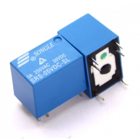 Wholesale Mini 12V DC Power Relay SRS-12VDC-SL SONGLE 6PINS 3A