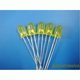 Wholesale 1000pcs/bag 5mm Diffused Yellow LED
