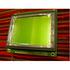 Wholesale 128x64 Graphic LCD Module with Yellow-Green backlight