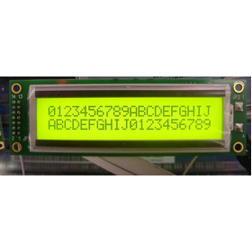 Wholesale HD44780 20x2 characters LCD module Yellow backlight