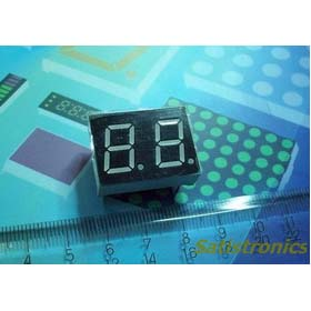 Wholesale 50pcs 0.5 inch Dual digital LED Display