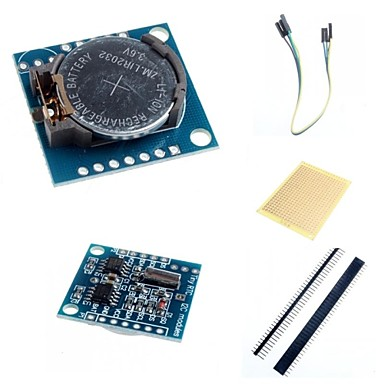 Wholesale I2C DS1307 Real Time Clock Module Tiny RTC 2560 UNO R3 and Acces