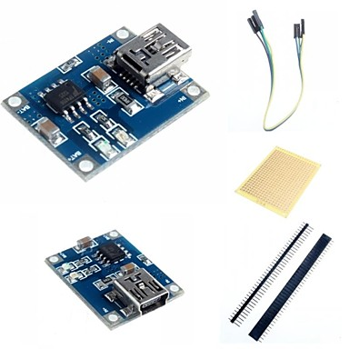 Wholesale 1A Lithium Battery Charging Module  and Accessories for Arduino