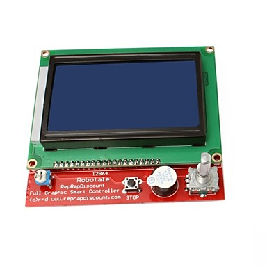 Wholesale 3D Printer Smart Controller RAMPS1.4 LCD 12864 Display