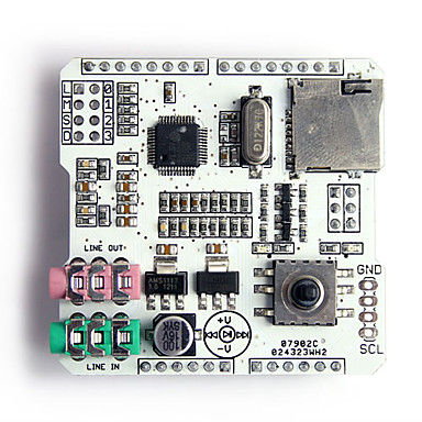 Wholesale SD Card MP3 / Music Shield Audio Expansion Board