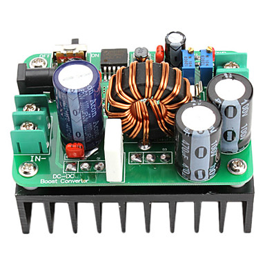 Wholesale 600W DC 10-60v to DC 12-80v Boost Voltage Power Supply Module