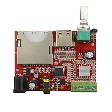 Wholesale 20W Hi-fi MP3 Decoder Board w/ Remote Amplifier Board