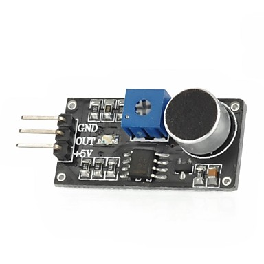Wholesale DIY Sound Sensor Module for (For Arduino) (Works with Official (For Arduino) Boards)