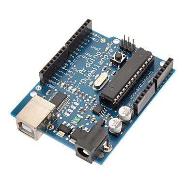 Wholesale (For Arduino) Duemilanove 2009 AVR ATmega328 p-20PU USB Board