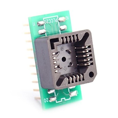 Wholesale PLCC20 to DIP20 for MCU Seat and IC Testing Seat Module Adapter