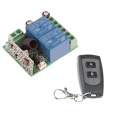 Wholesale 12V 2-Channel Wireless Remote Power Relay Module with Remote Con