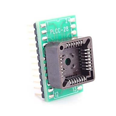 Wholesale PLCC28 to DIP24 for MCU Seat and IC Testing Seat Module Adapter