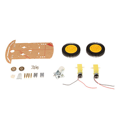 Wholesale 2WD Smart Robot Car Speed Detection Chassis Kits With 20 Grid Encoder For Arduino