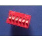 Wholesale Dip Switch 6 Positions Gold Plated Contacts 28pcs/Tube