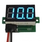 Wholesale DC 3.2-30V Digital Panel Voltmeter Red/Blue/Green for Choice