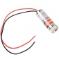 Wholesale 650nm 5V 5mW Red Laser Head Straight Line Module Focus Adjustable