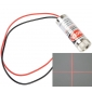Wholesale 650nm 5V 5mW Red Laser Head Cross Line Module